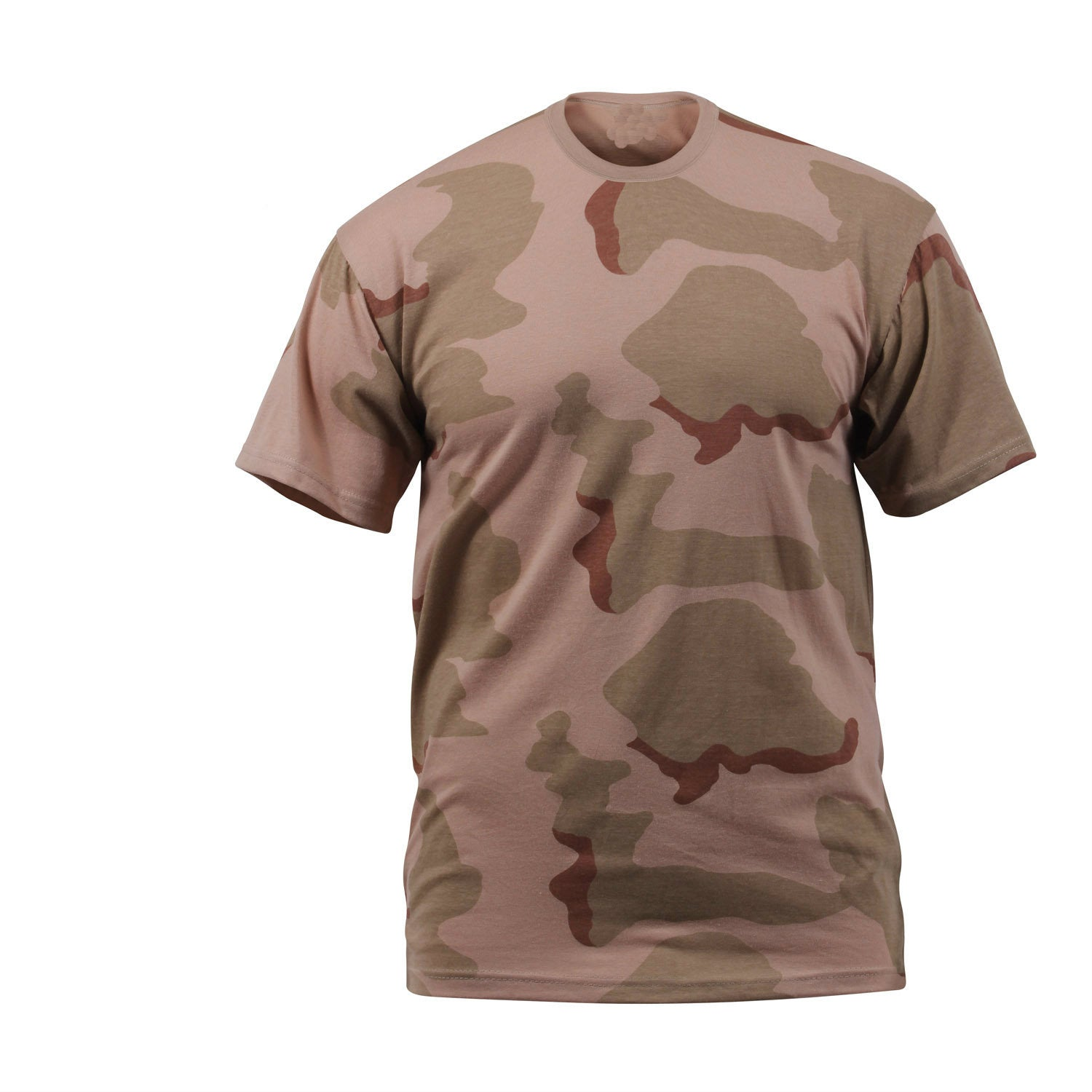 Tri Color Desert Camouflage T-Shirt