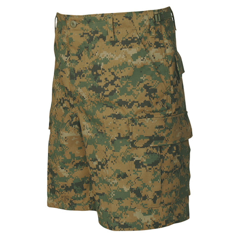Tru Spec Woodland Digital BDU Shorts - Indy Army Navy
