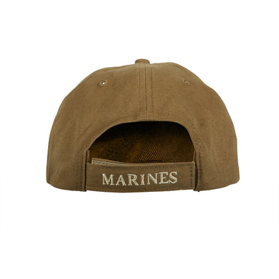 Marines Globe & Anchor Hat Coyote