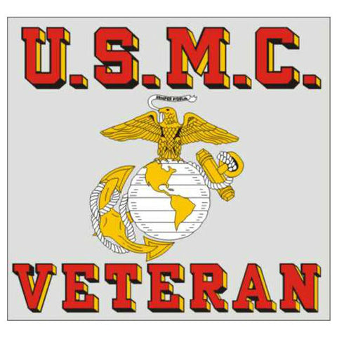USMC Veteran EGA Decal