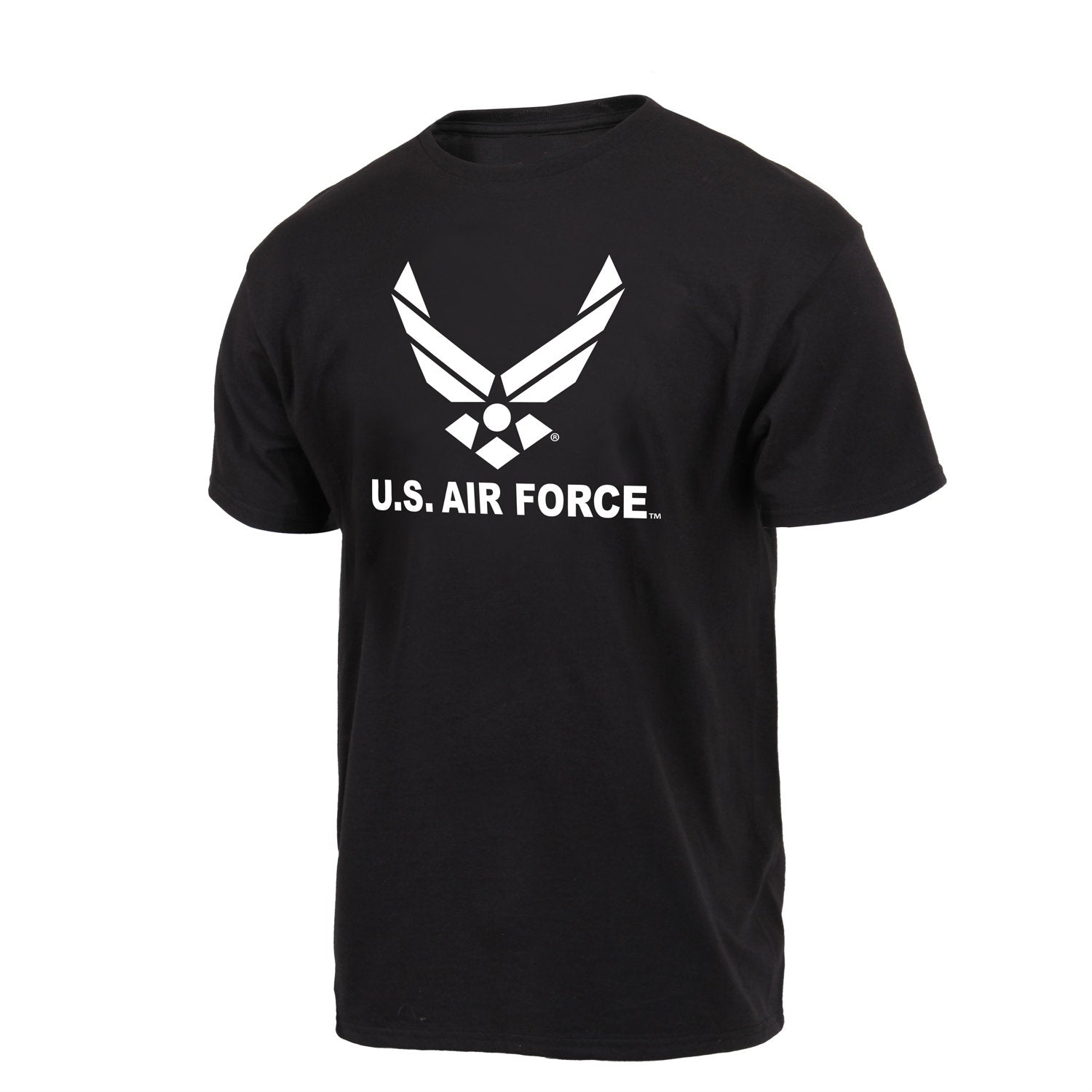 US Air Force Emblem T-Shirt Black
