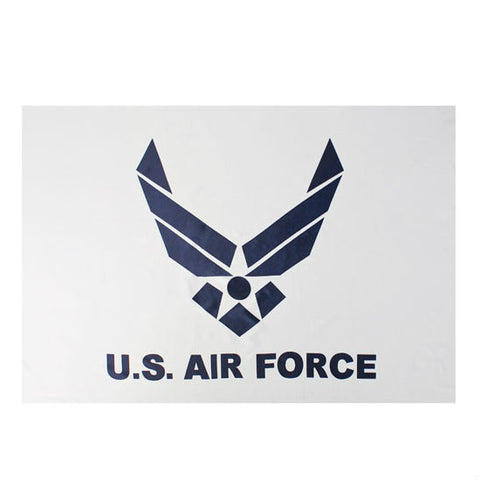 US Air Force Wing Flag White 3' x 5'