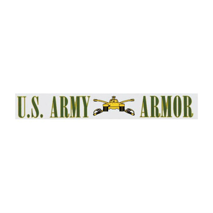 Army Armor Decal