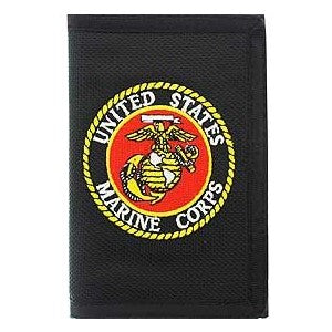 US Marines Emblem Wallet