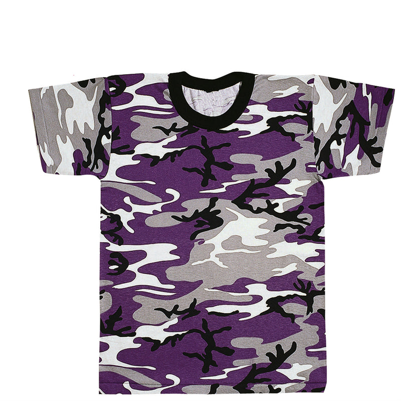 Ultra Violet (Purple) Camouflage T-Shirt - Indy Army Navy