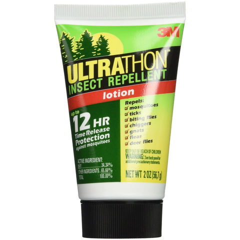 3M Ultrathon Insect Repellent Lotion 34.34% Deet 2 oz.