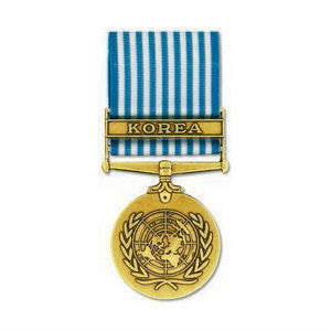 United Nations Korea Service Medal Anodized
