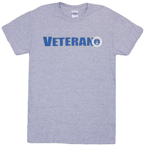 Veteran US Air Force T-Shirt Grey