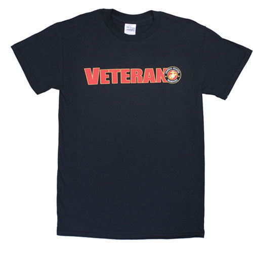 Veteran US Marines T-Shirt Black