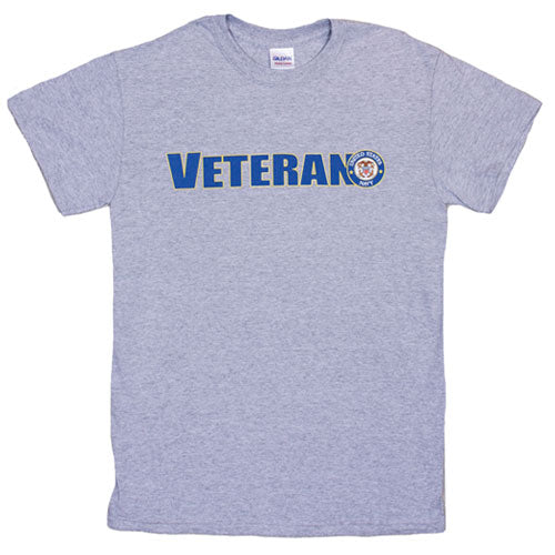 Veteran US Navy T-Shirt Grey