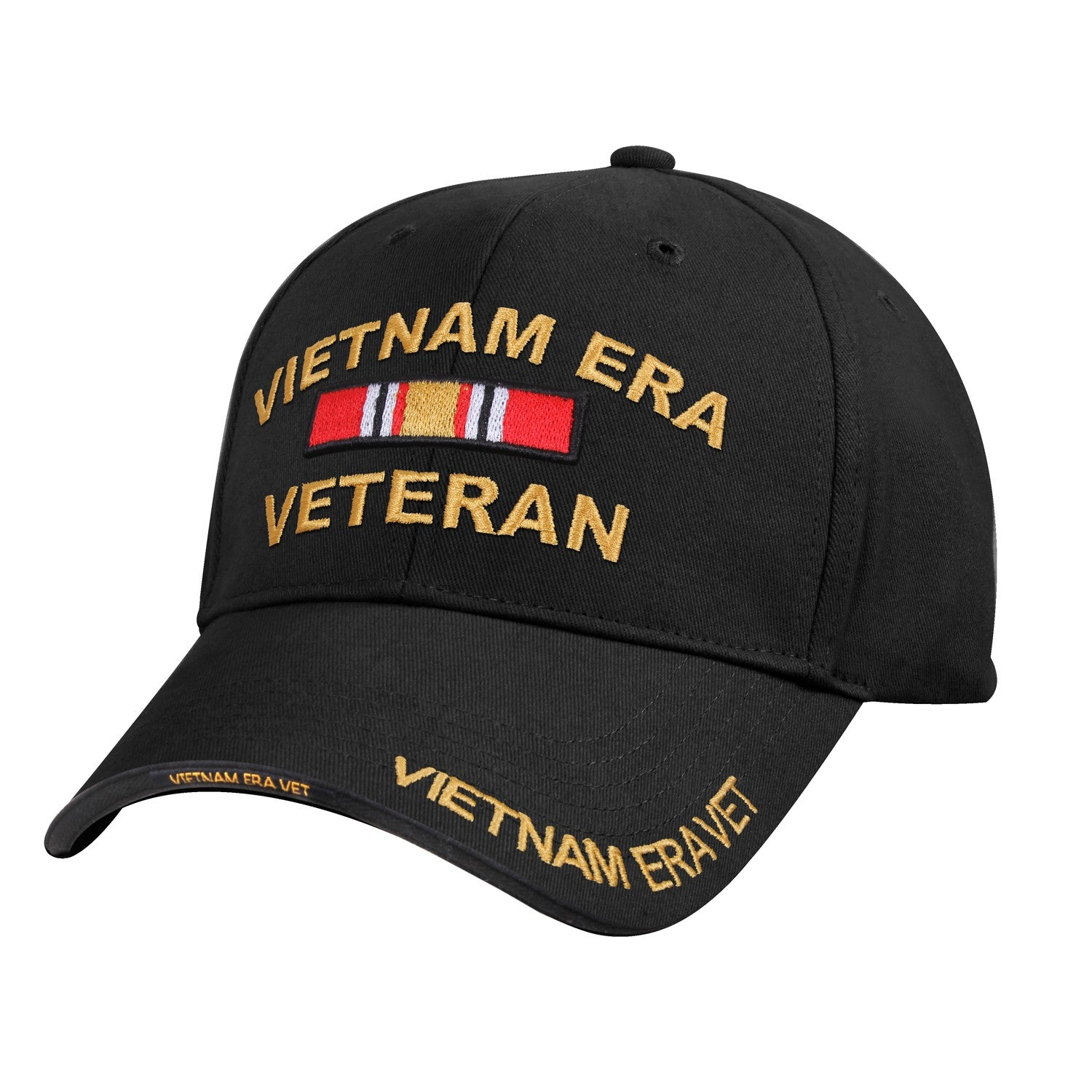 Vietnam Era Hat Black