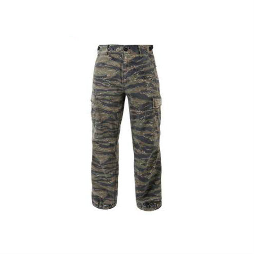 Vintage Vietnam Fatigue Pants RS Tiger Stripe