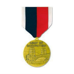 WWII Army of Occupation Medal Anodized