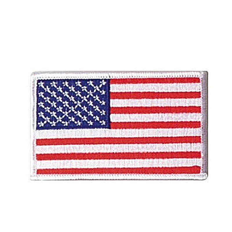 White Border Flag Patch - Indy Army Navy