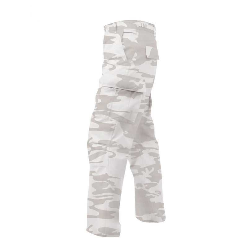 White Camouflage BDU Pants