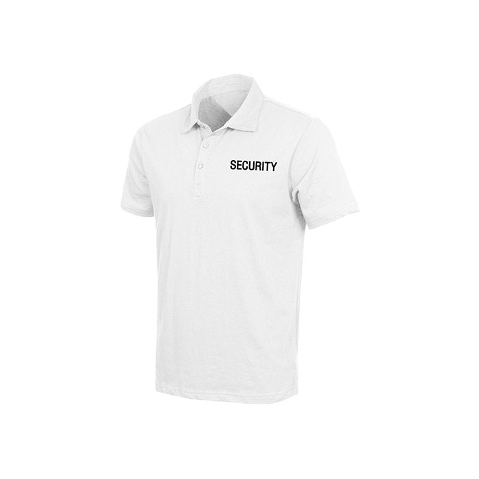 Cotton Security Polo White