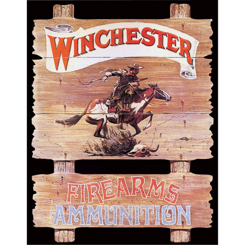 Winchester Express Rider Tin Sign - Indy Army Navy