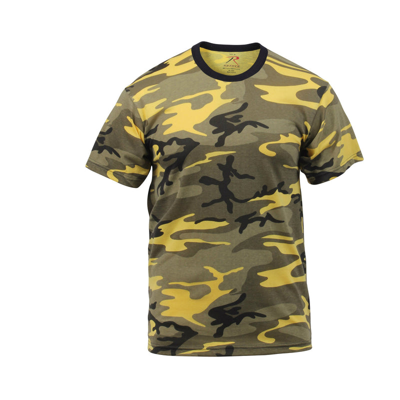 Yellow Stinger Camouflage T-Shirt