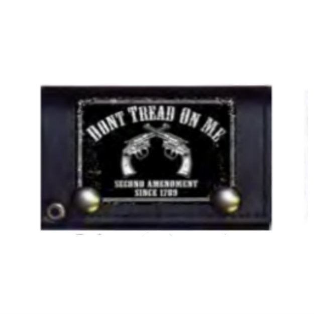 Don't Tread 2nd Amendment Biker Wallet With Chain