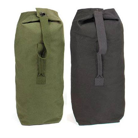 Top Load Canvas Duffle Bag