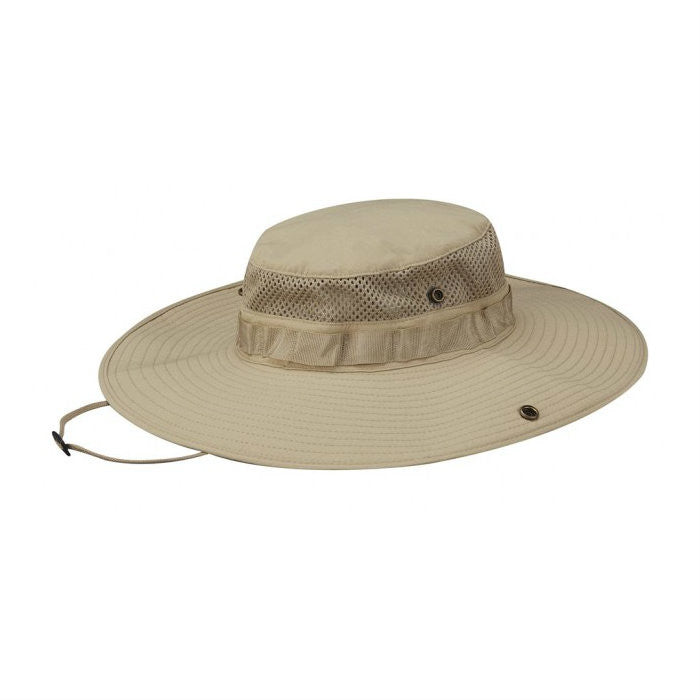Summer Weight Wide Brim Boonie Khaki