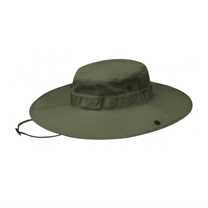 Summer Weight Wide Brim Boonie Olive
