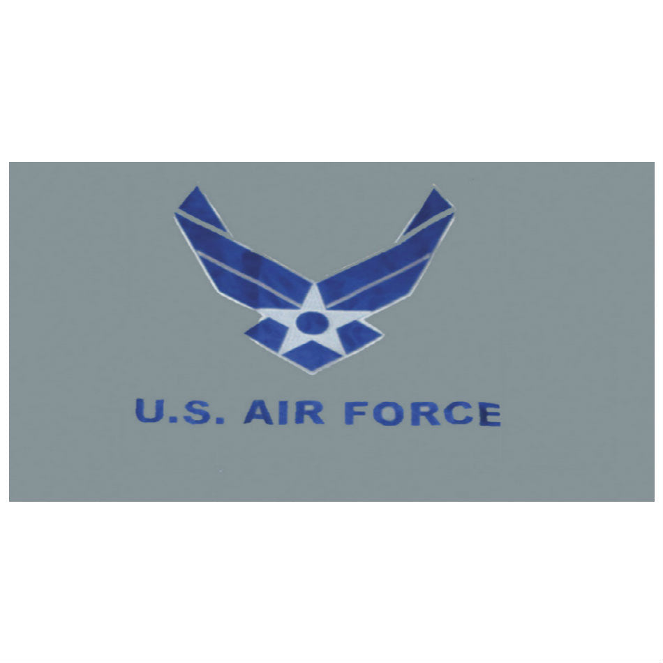 US Air Force Wing Flag 3' x 5' Grey