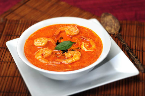 Tom Yam (served with white rice or rice vermicelli)