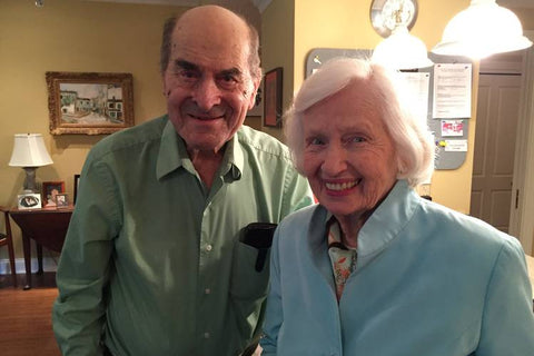 Dr. Henry Heimlich and Patty Ris