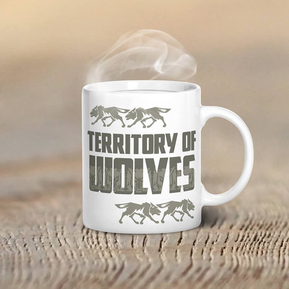 Territory Of Wolves Mug - Butterfly Trade