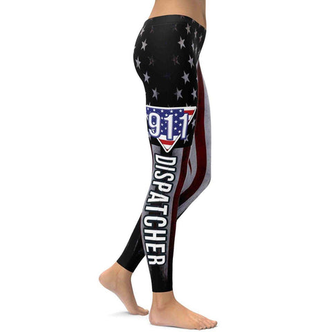 911 Dispatcher All Over Print Leggings