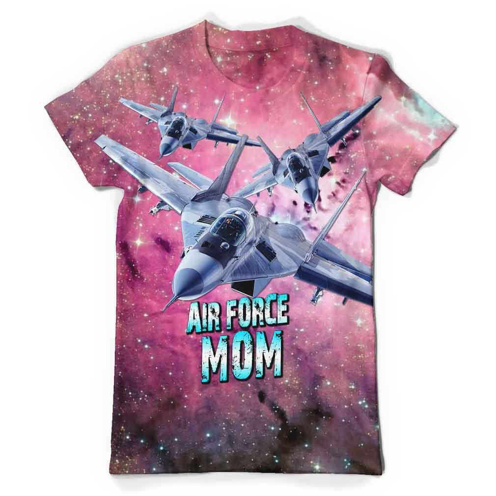 Air Force Mom All Over Print T-Shirt