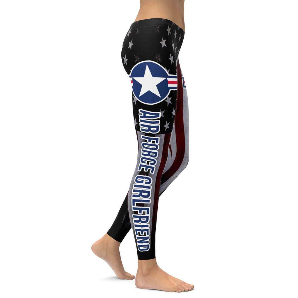 Air Force Girlfriend All Over Print Leggings