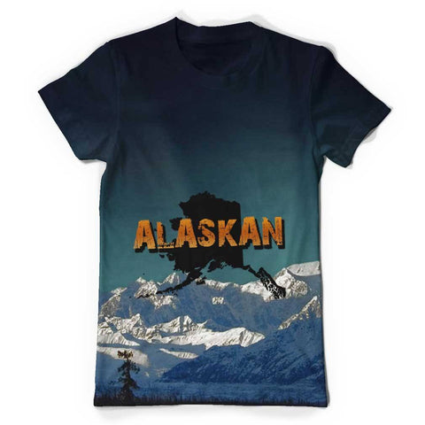 Alaskan All Over Print T-Shirt