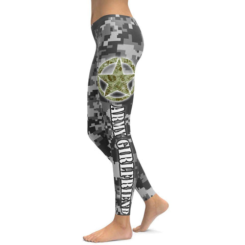 Army Girlfriend All Over Print Leggings