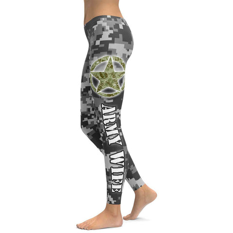 Army Wife All Over Print Leggings