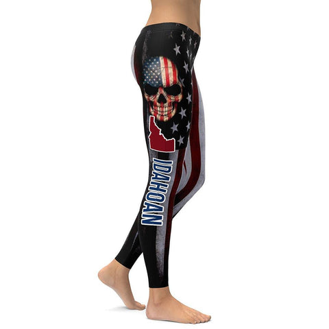 Idahoan All Over Print Leggings