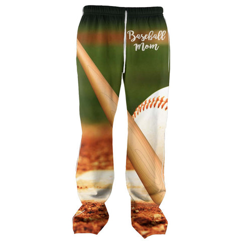 Baseball Mom All Over Print Sweatpants