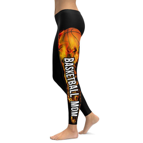Basketball Mom All Over Print Leggings