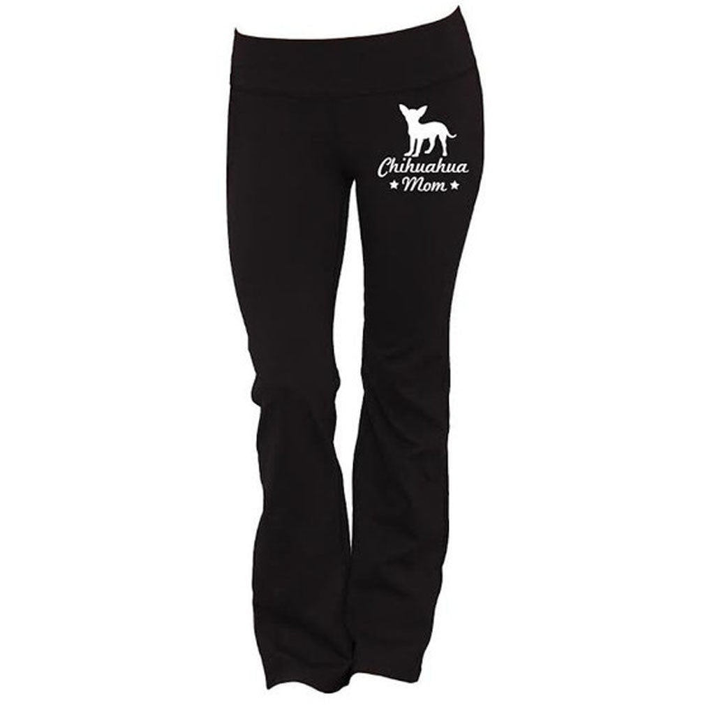 Chihuahua Mom Yoga Pants - Butterfly Trade