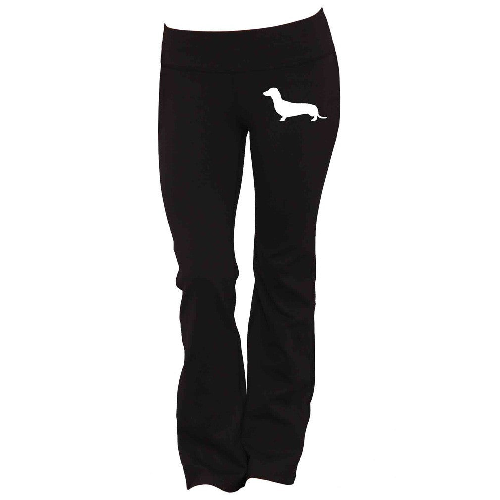 Dachshund Yoga Pants - Butterfly Trade