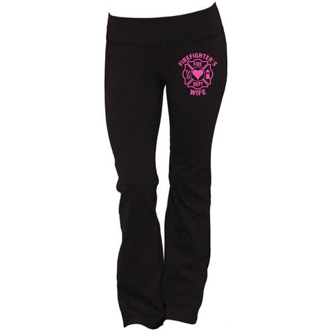 Firefighter's Wife Yoga Pants
