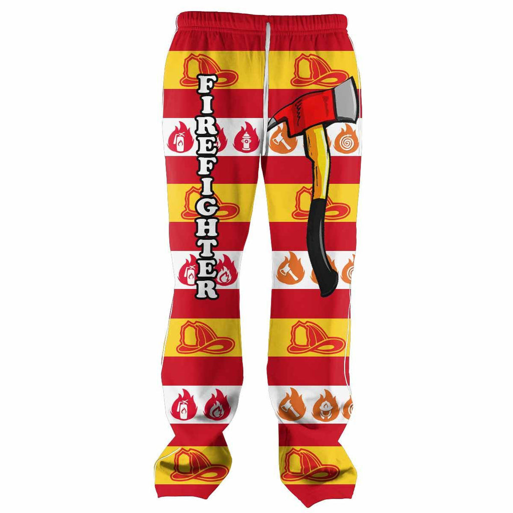 Firefighter All Over Print Sweatpants