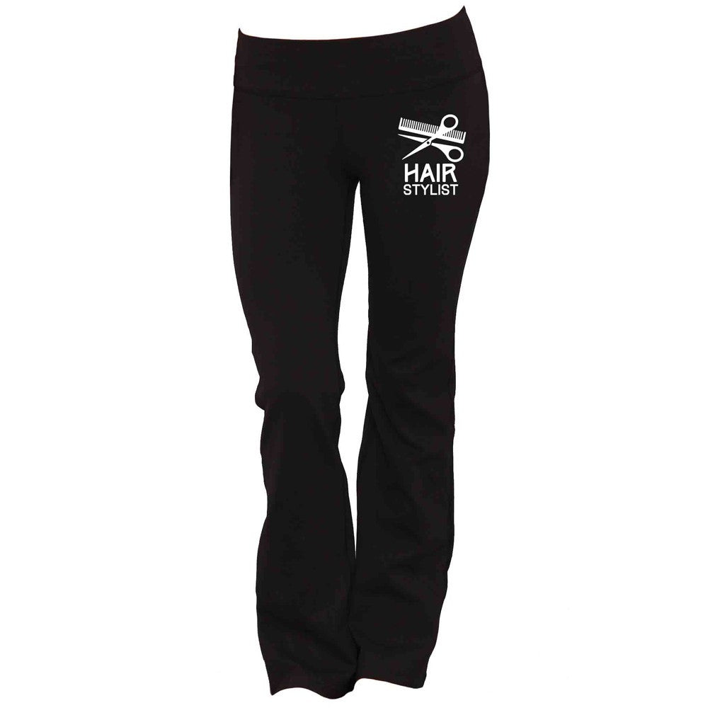Hair Stylist Yoga Pants - Butterfly Trade