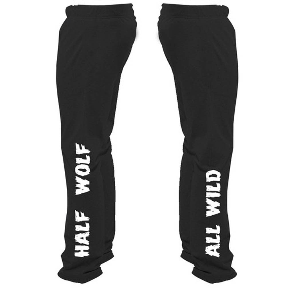 Half Wolf All Wild Sweatpants - Butterfly Trade