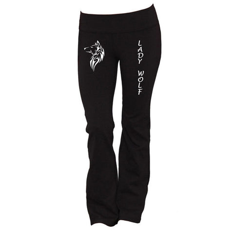 Lady Wolf Yoga Pants