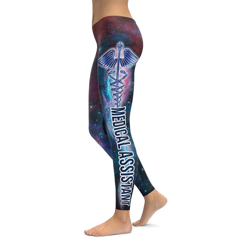 Medical Assistant All Over Print Leggings
