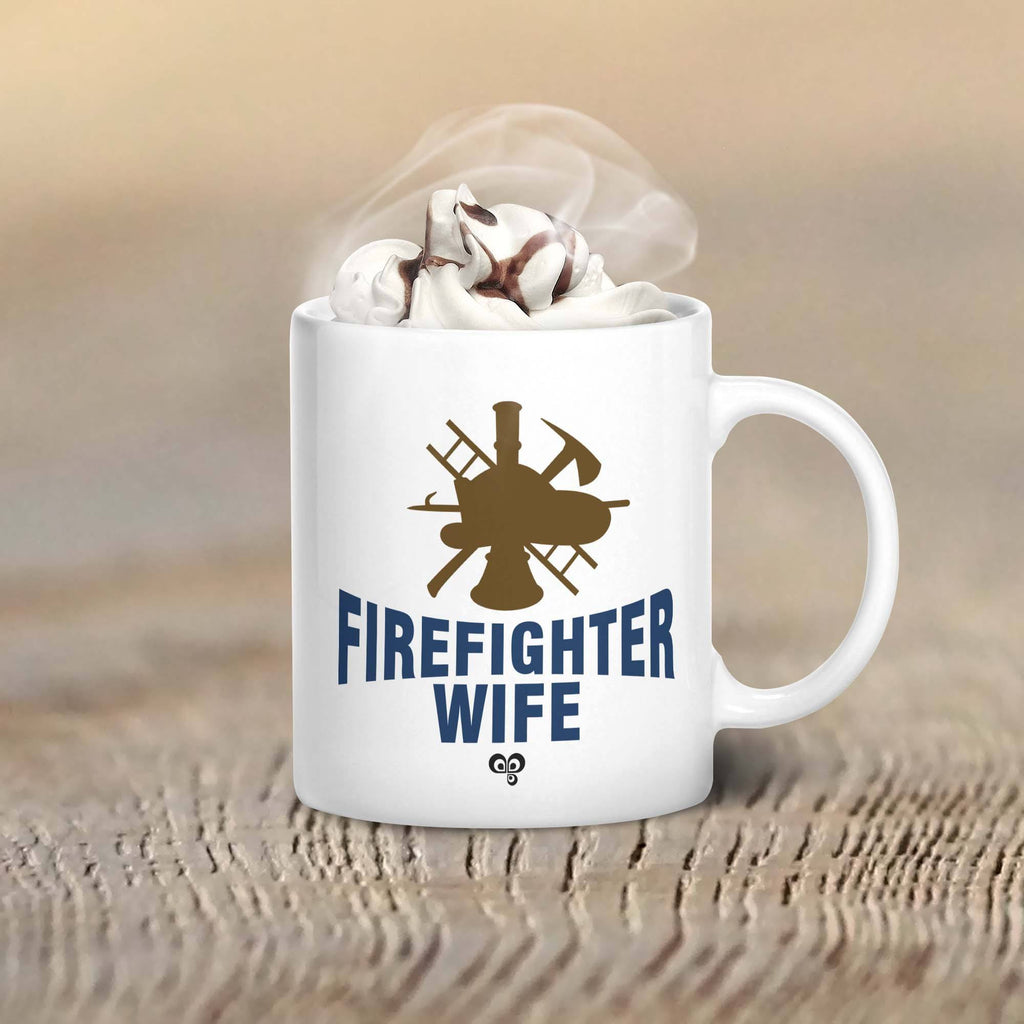 Firefighter Wife Mug - Butterfly Trade