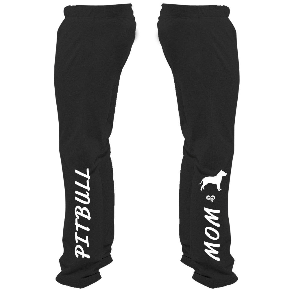 Pitbull Mom Sweatpants - Butterfly Trade