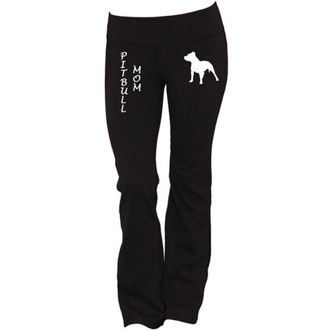 Pitbull Mom Yoga Pants
